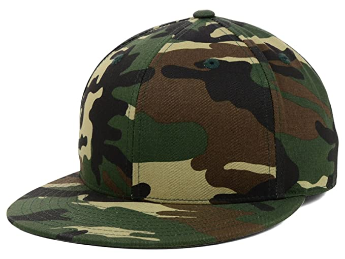 3d792bcd5 Top of the World By Lids Men's Fitted Grand Slam Camo or Solid Blank  Baseball Hat Cap