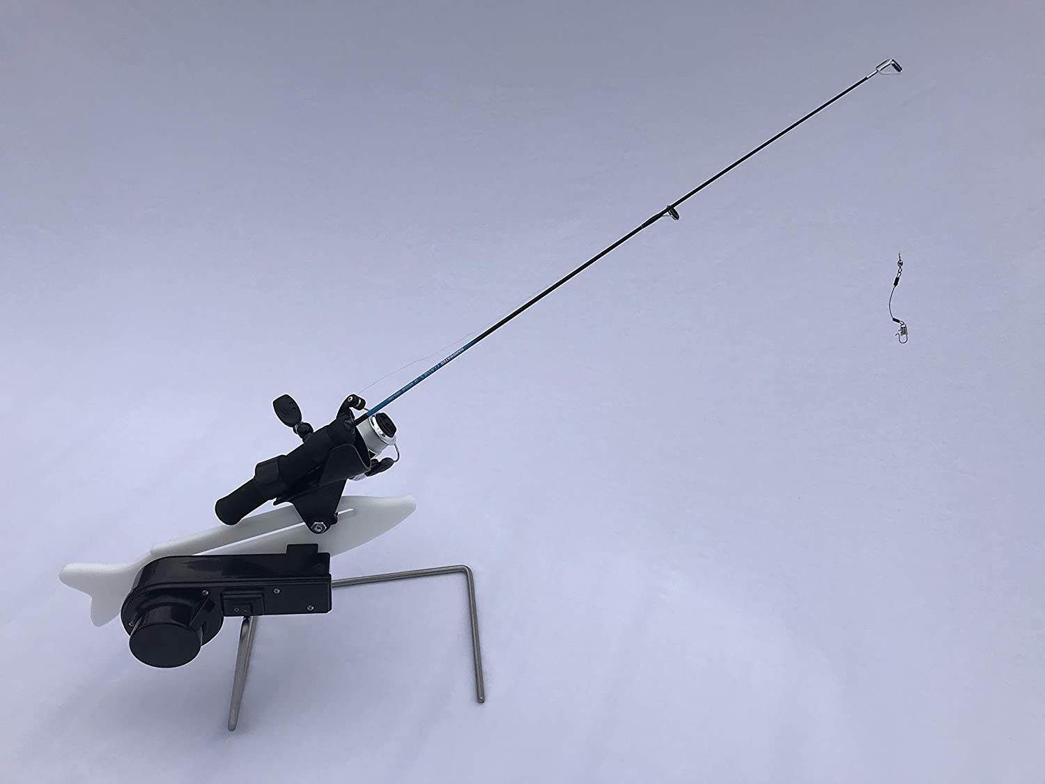 Catch-On Automatic Jigging Rod Holder for Ice Fishing