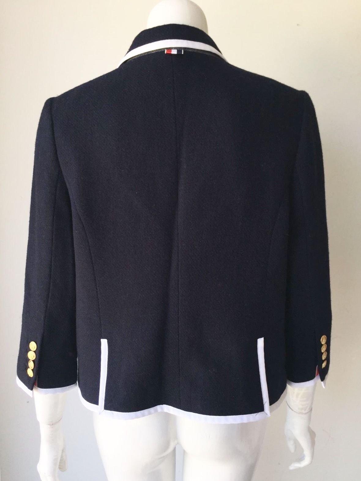 Thom Browne for Neiman Marcus + Target Navy Wool Blazer Size Medium by Thom Browne (Image #6)