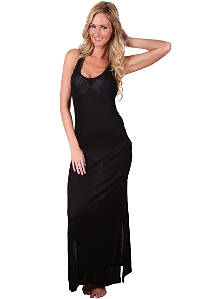 3207db6ddf6 Ingear Racerback Maxi Dress Swimsuit Cover Up At Women S