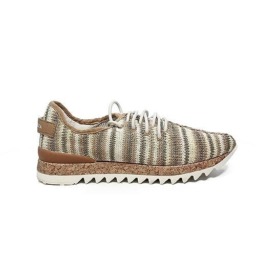 Apepazza DLY22 zapatilla de tela de color natural nueva colección primavera verano 2017 (41)