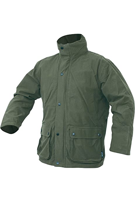 Jack Pyke Hunters Jacket Waterproof Silent Fishing Hunting Green All Sizes