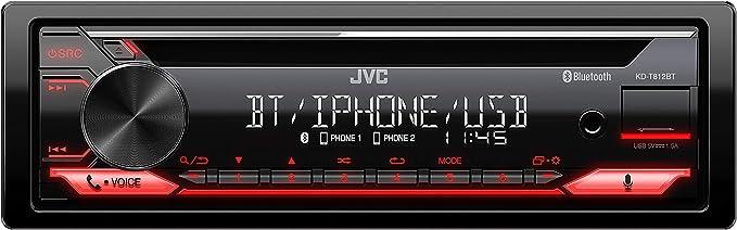 JVC KD r992bt R/écepteur Bluetooth avec fonction mains-libres et audiostraming CD Noir