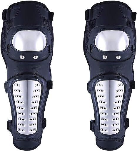 gomitiere 4 pezzi Durevole Adulti Ginocchiere moto gomiti Guardia Protezioni Gear Gear Ginocchiere