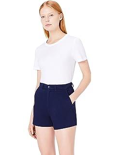 aa293cdcbb39 MERAKI Women s Stretch Slim Fit Cropped Chino Trouser  Amazon.co.uk ...