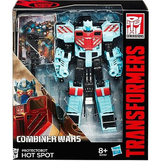 5 opinioni per Transformers B2397ES0- Generation Voyager, Protectobot Hot Spot