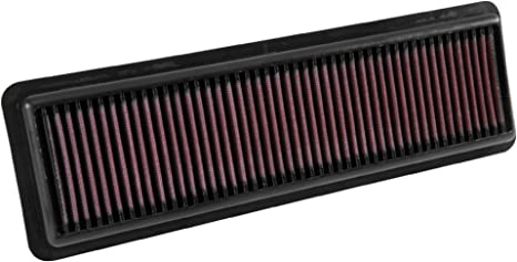 K/&N Engine Air Filter: High Performance 33-3049 Premium Panel Replacement Filter: 2014-2018 i10, Grand, Xcent Washable
