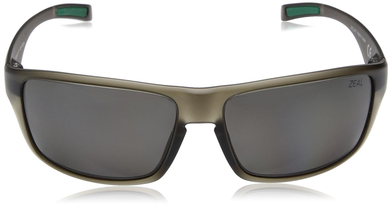 cb1cdd4c51 Amazon.com  Zeal Optics Unisex Incline Matte Black W Polarized Dark Grey  Lens One Size  Clothing