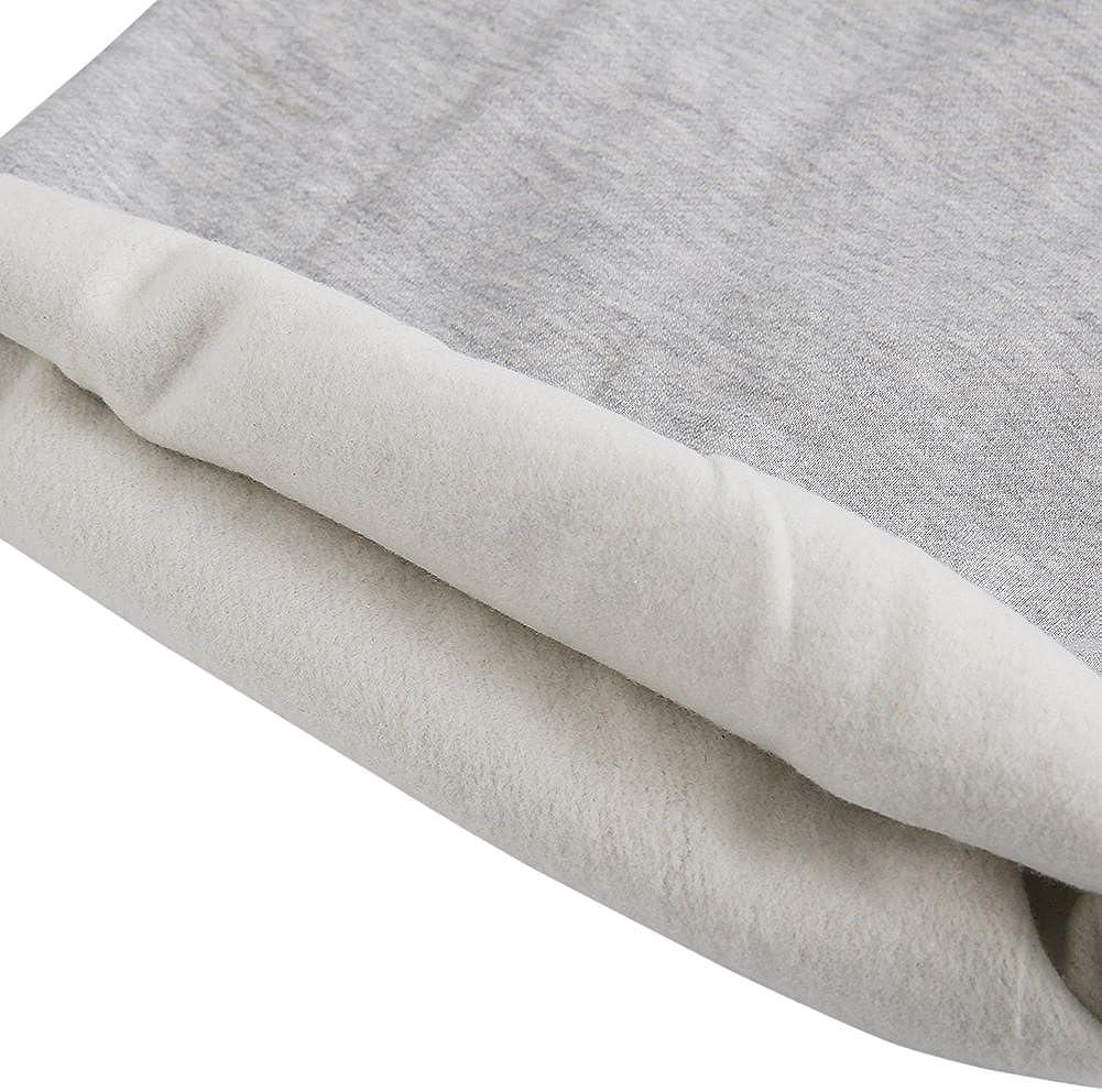 BOBORA Little Kids Lamb Wool Patchwork Casual Long Sleeve Sweatshirts