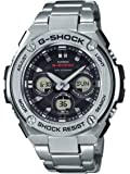 Casio G-Shock G-STEEL SLIM Mens Tough Solar Silver Watch GSTS310D-1A