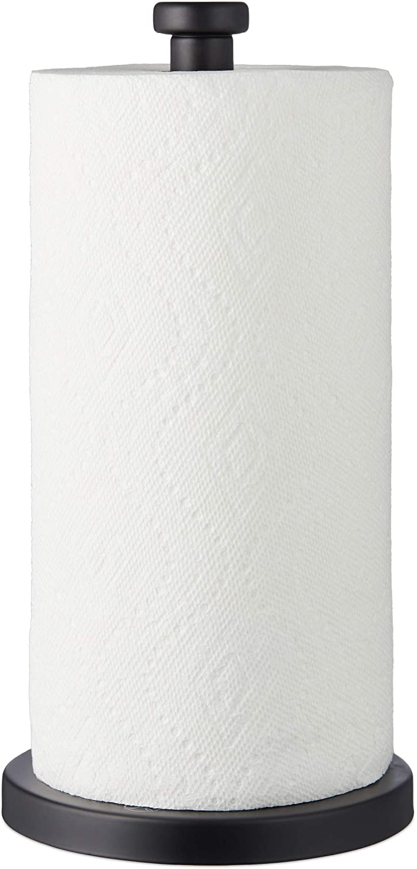 Steelware Central Paper Towel Holder Stainless Steel Matte Black