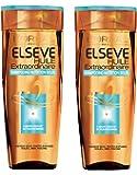 Elsève l'Oréal Paris Shampooing Huile Extraordinaire Nutrition Soleil 250 ml - Lot de 2