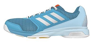 reputable site bad71 58ab3 adidas Multido Essence W - Chaussures de handball pour Femme, Bleu ,  Taille 40