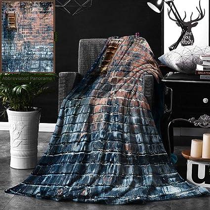 17c8953d66 Amazon.com: Unique Custom Double Sides Print Flannel Blankets Rustic ...