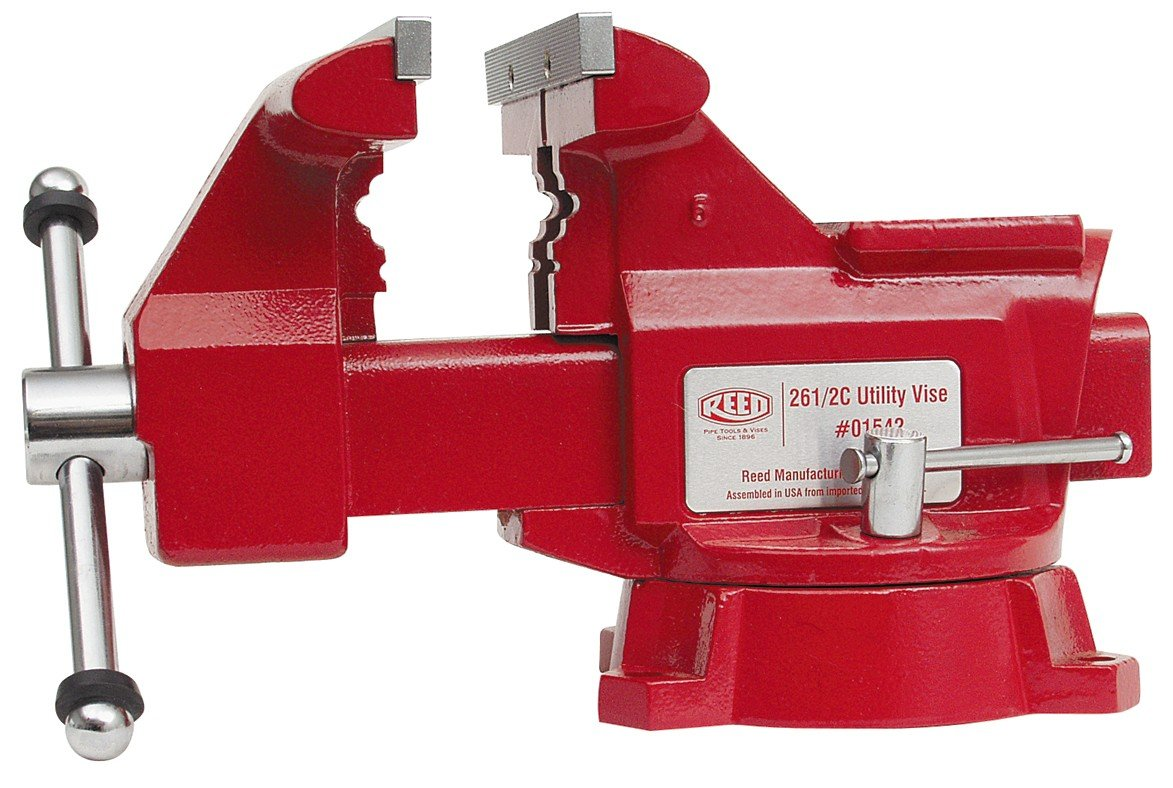 Reed Tool 26 1/2C Utility Workshop Vise, 6-1/2-Inch Jaw Width by Reed Tool (Image #1)