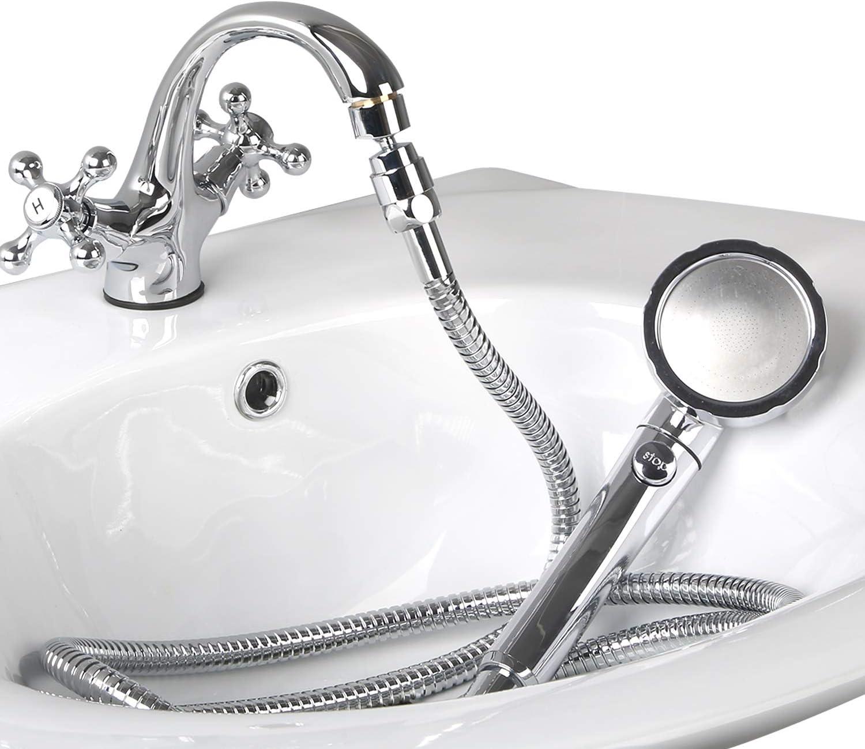 Handheld Small Shower Sprayer Head For Salon Hairdresser Water Sink Basin Hose