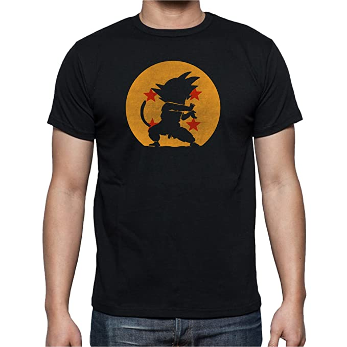 The Fan Tee Camiseta de Hombre Dragon Ball Son Goku Anime Akira Toriyama