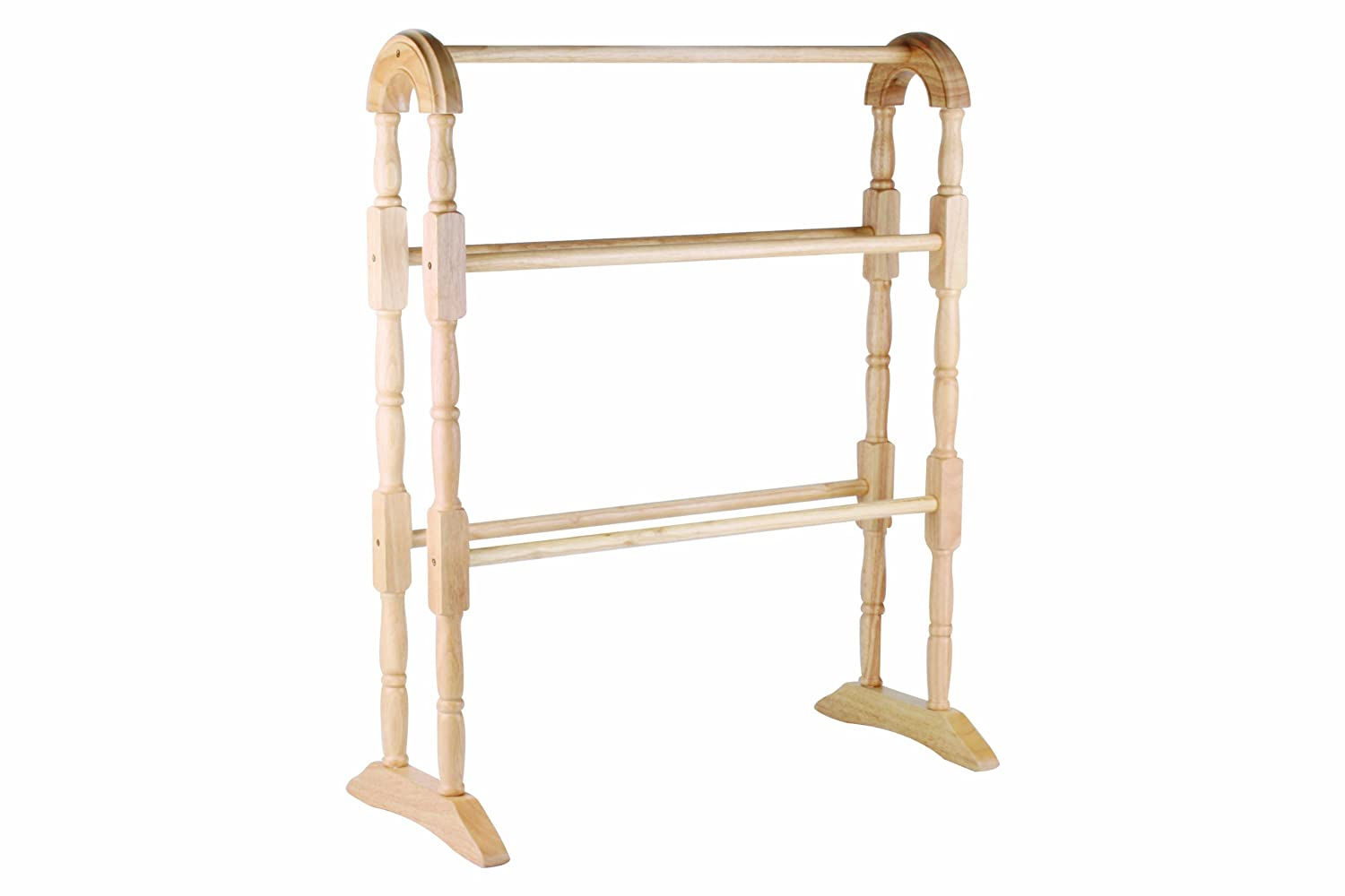 Apollo 1-Piece 63 x 78 x 30 cm Hevea Towel Rail Natural 2135