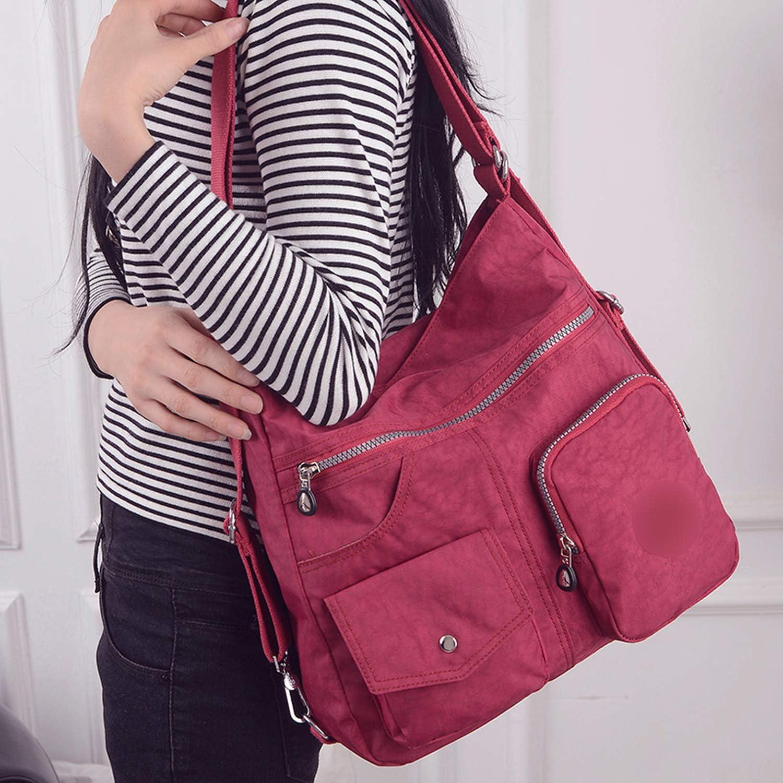 New Waterproof Women Bag Double Shoulder Bag Handbags Nylon Female Handbag Sac A Main