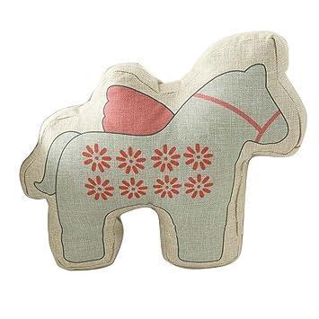 Inwagui Ssse Pferd Form Kissen Polster Stuhlkissen Zierkissen Sofakissen Fr Dekorative Wohnzimmer Jugendzimmer