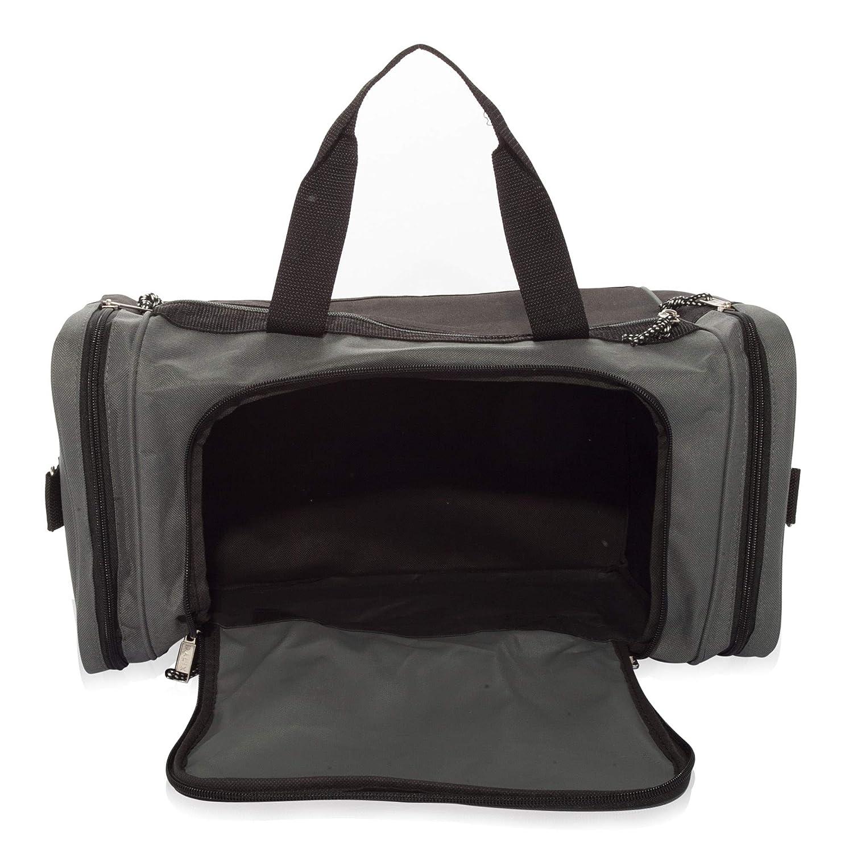 DALIX 19 Blank Sports Duffle Bag Gym Bag Travel Duffel with Adjustable  Strap in Pink DF cb10b67f2a