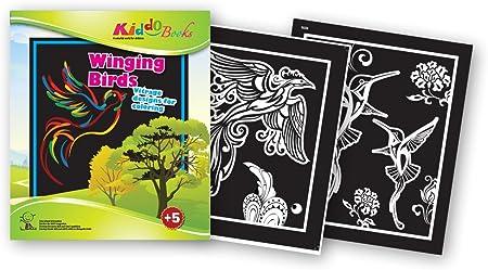 Quackduck libro para colorear Winging Birds - Vitrage Designs ...