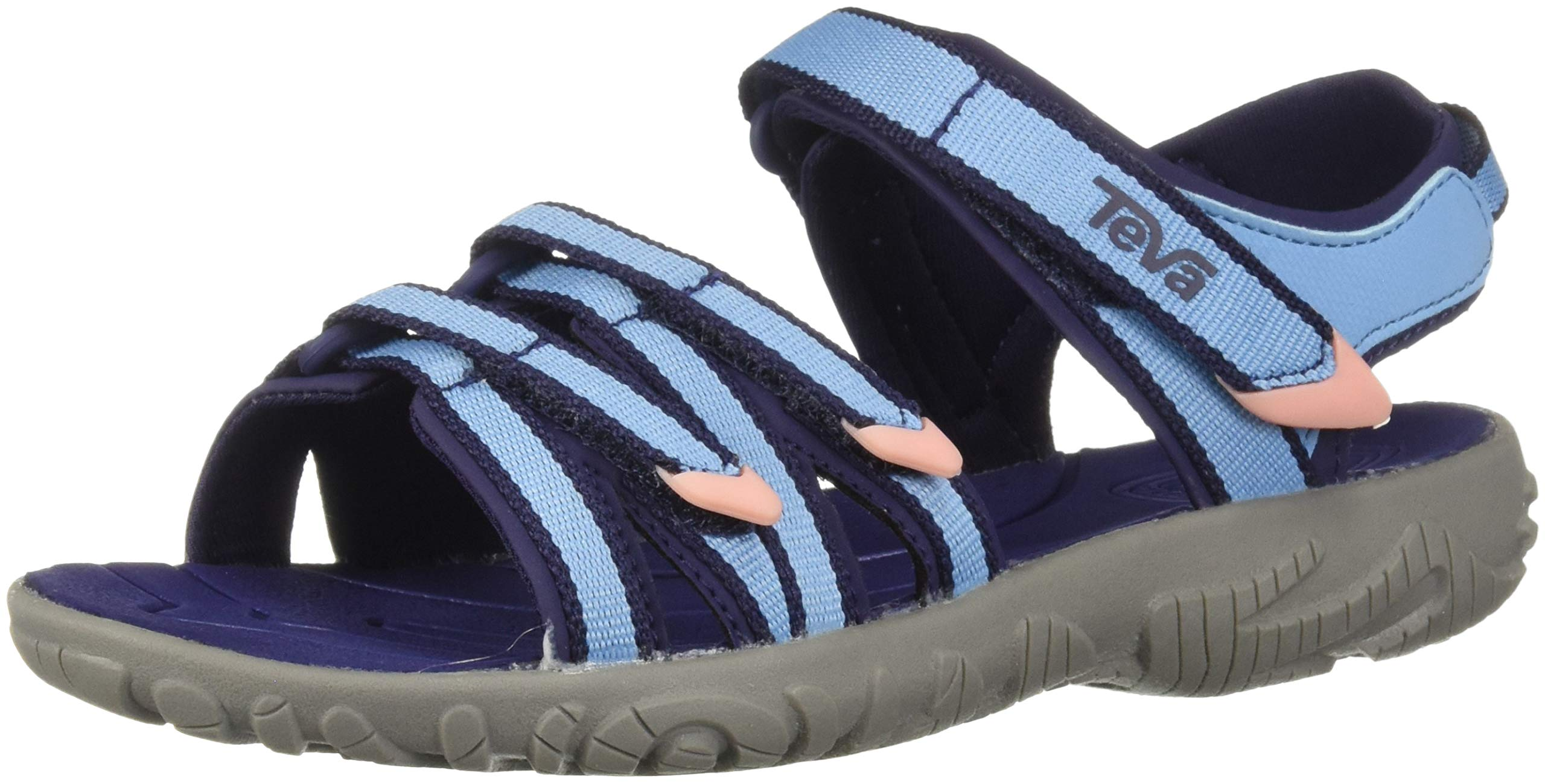 Teva Boys' K Tirra Sport Sandal, Alaskan Blue, 3 Medium US Little Kid