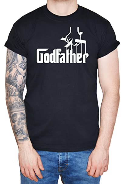 "Godson T-Shirt /""I/'m the Godson.../"" Funny Baby Boy Christening Gift The Godfather"