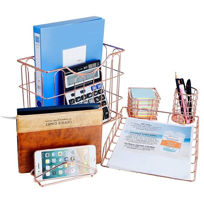 Amazon.com: Miukada - Set de organizador de escritorio ...