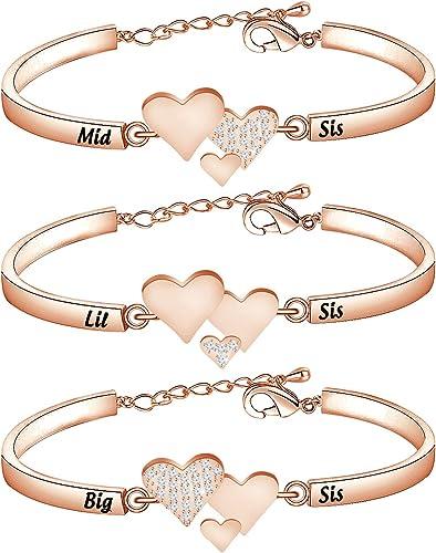 Bestie set of friendship bracelets
