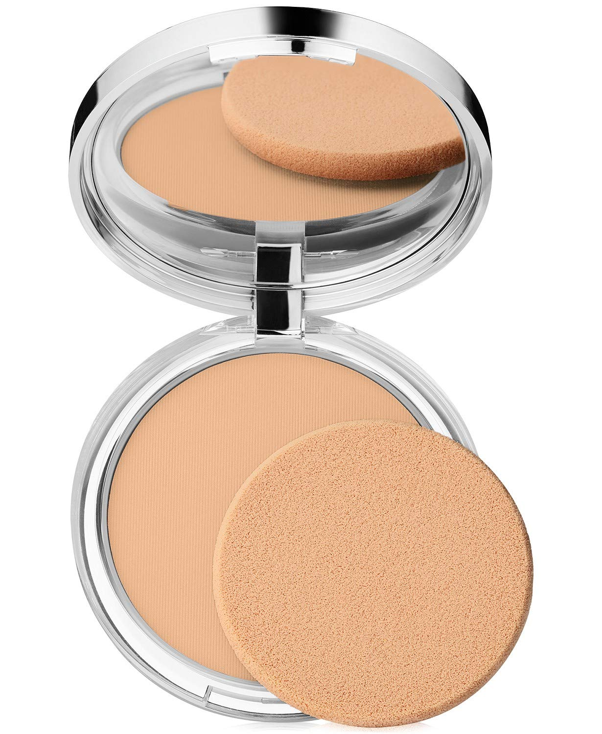 New! Clinique Stay-Matte Sheer Pressed Powder, 0.27 oz / 7.6 g, 03 Stay Beige (MF/M)