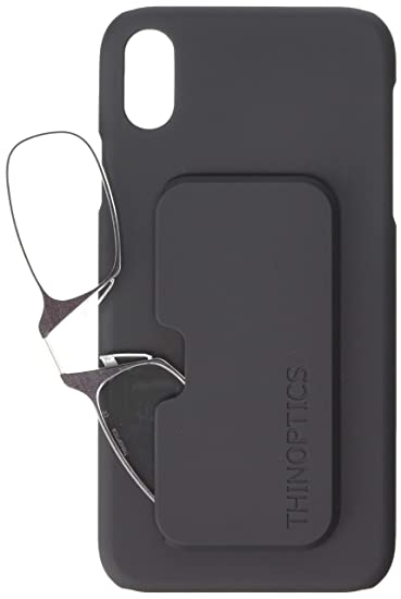 7e4644975c4f Image Unavailable. Image not available for. Color  ThinOptics Reading  Glasses + iPhone XR Case