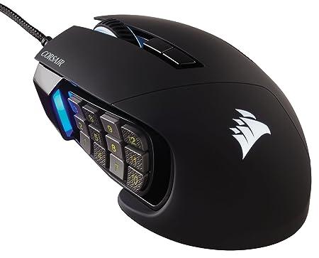 Corsair Scimitar Pro - Ratón (Mano Derecha, Óptico, USB, 16000 dpi, 147 g, Negro): Amazon.es: Informática