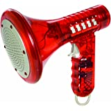 Kids Multi Voice Changer - Red Color - Change Your Voice In A Couple Different Voice Modifiers, For Boys And Girls Of All Age, Parties, Christmas, Events - By Katzco