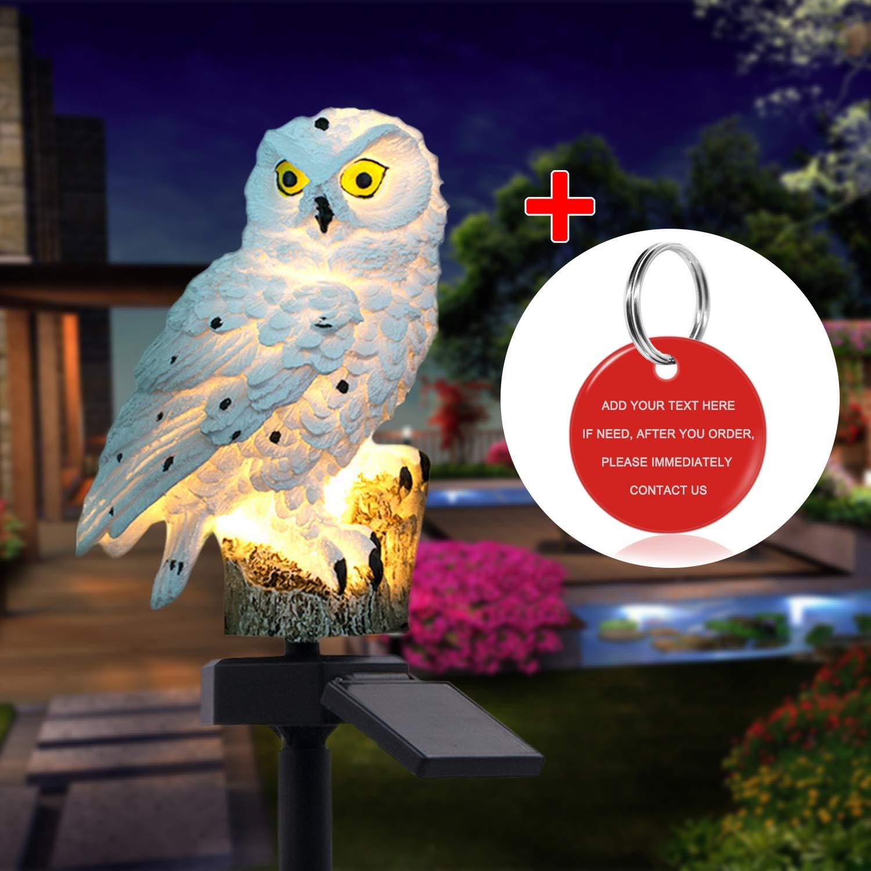 Owl Shape Outdoor LED Lights
