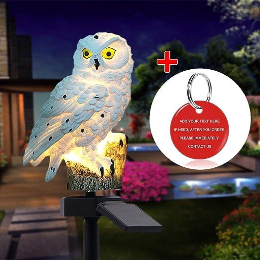 Solar LED Animal Ornament Light Outdoor Garden Yard Lawn Decor Landscape Lamp