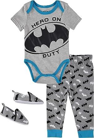 Body con Capa de Batman para Beb/é Ni/ño Reci/én Nacido Warner Bros