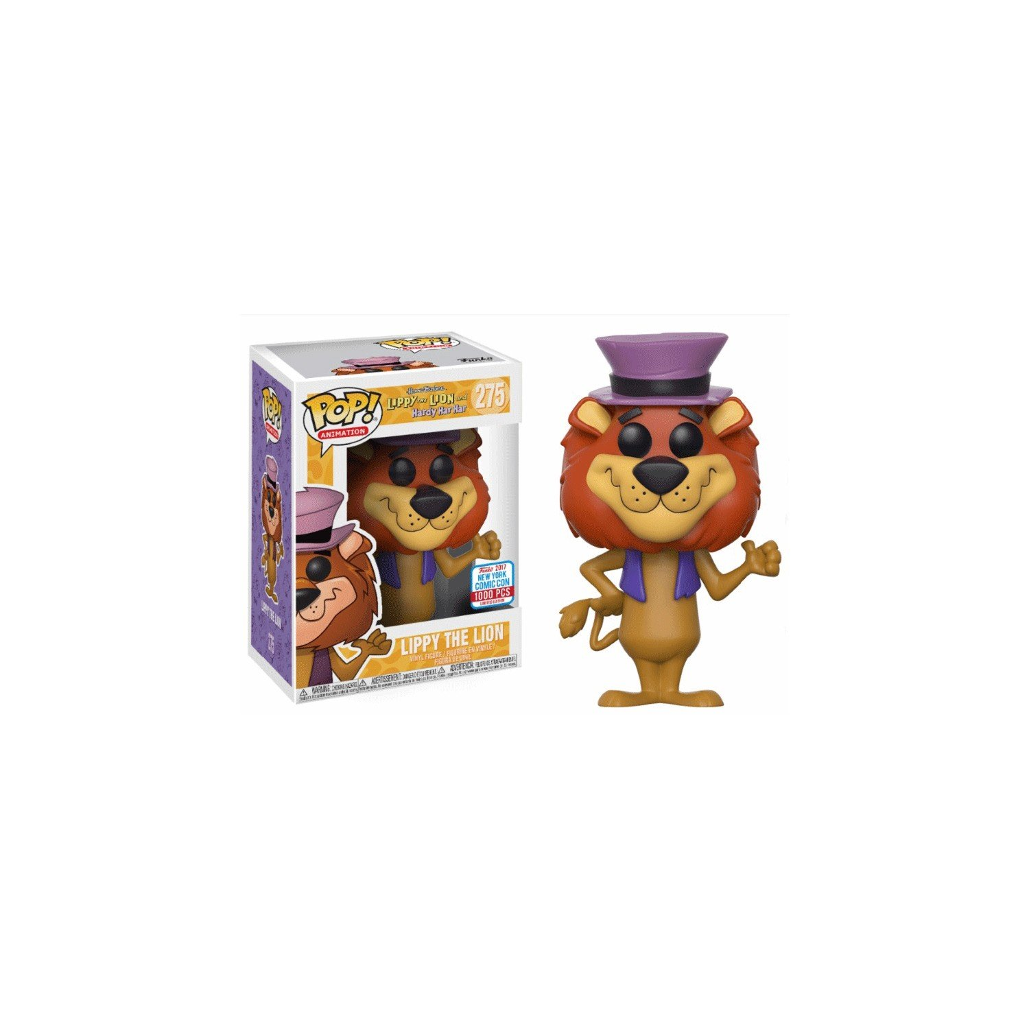 FunKo - Figurine Hanna Barbera - Lippy The Lion Exclu Pop 10cm - 0889698136570