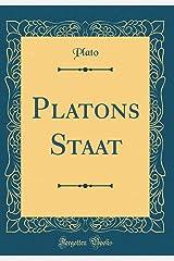 Platons Staat (Classic Reprint) Pasta dura