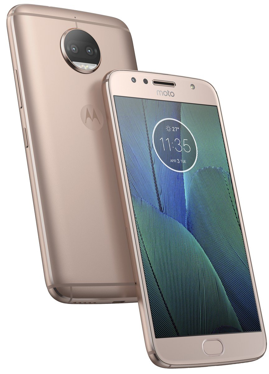 Image result for Moto G5S Plus (Blush Gold, 64GB)