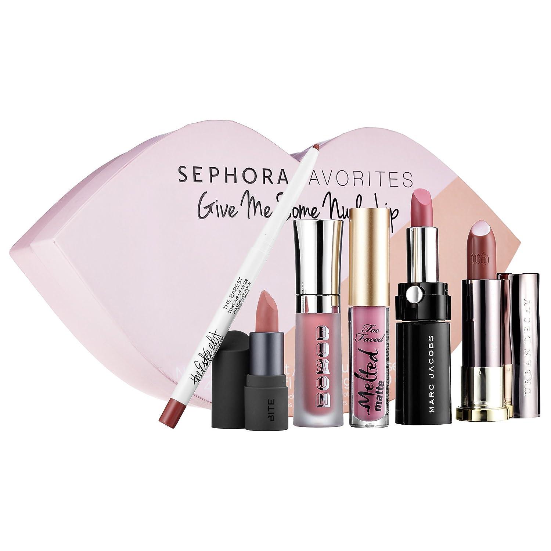 セフォラ リップセット Sephora Favorites Give Me Some Nude Lip B01N6QYWKG