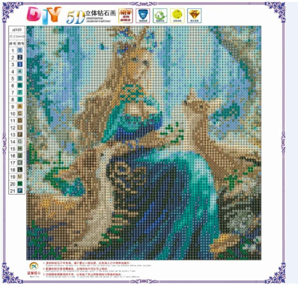 Runzeseny DIY Dreamcatcher Diamond Painting Cross Stitch Embroidery Home Decor