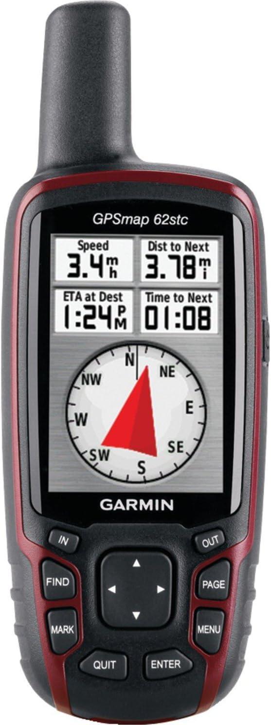 Garmin GPSMAP 62stc Handheld GPS w Digital Camera