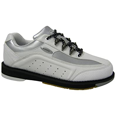 Elite Platinum White Right Hand Bowling Shoes - Womens