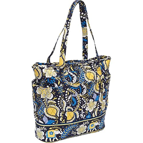 23a3693112 Image Unavailable. Image not available for. Color  Vera Bradley Go Round  Tote (Ellie Blue)