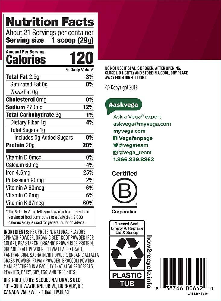 Amazon.com: Envase de proteínas y hierbas en polvo de ...