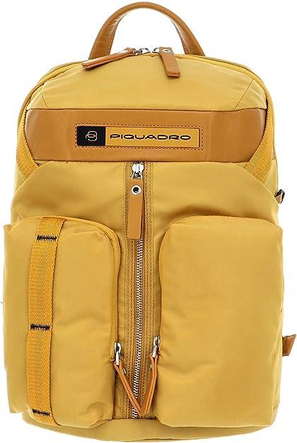 Zaino Porta Computer 14 1 Piquadro Bios Ca5038bio Giallo Schuhe Handtaschen