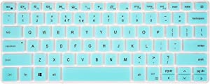 Keyboard Cover for Dell inspiron 13 5301 5390 5391 7306 7390 7391, inspiron 14 5402 5406 5409 5490 5493 5498 7405 7490, Vostro 5390 5391 5401 5402 5490 Laptop - Mint