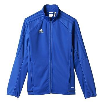 Adidas Youth Tiro 17 Soccer Training Jacket 2XS Bold Blue-Black-White