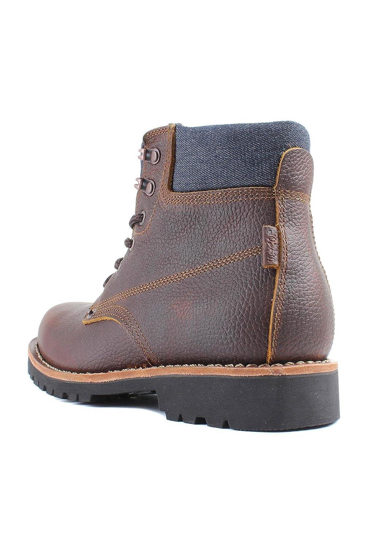 Levis Zapatos Hombre Jackson Botines, Botas, Cuero y Jeans - Marrón Oscuro: : 10 UK: Amazon.es: Zapatos y complementos